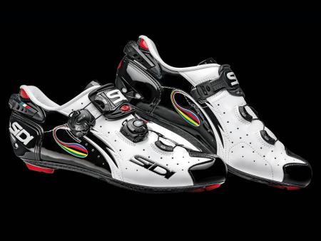 Sidi Wire Carbon Vernice White-Black-Iride