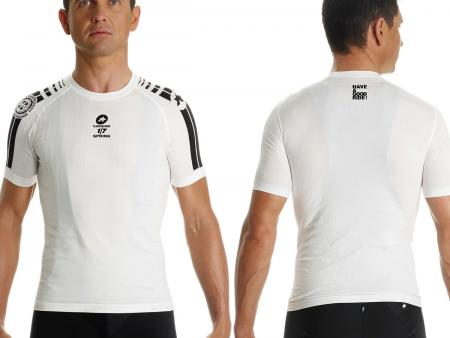 Sous-maillot Assos SS.skinFoil spring blanc