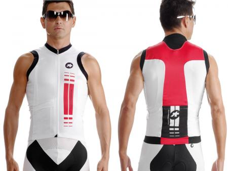 Maillot Assos S.superLeggera Red Swiss