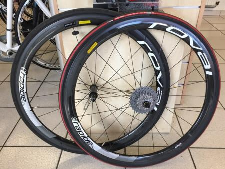 Roues carbone ROVAL Rapide CL 40 occasion