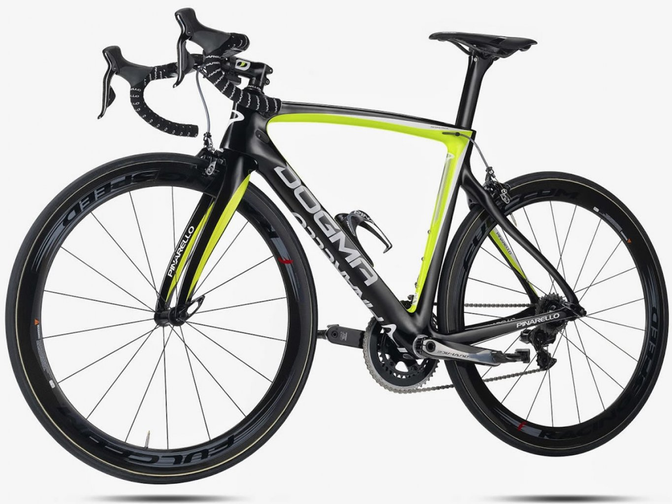 DOGMA F8 - Carbon T11001K - 953 Black Yellow Fluo