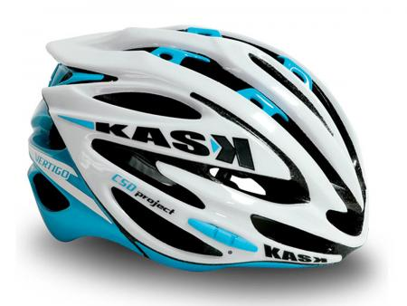 Kask Vertigo White/Light Blue
