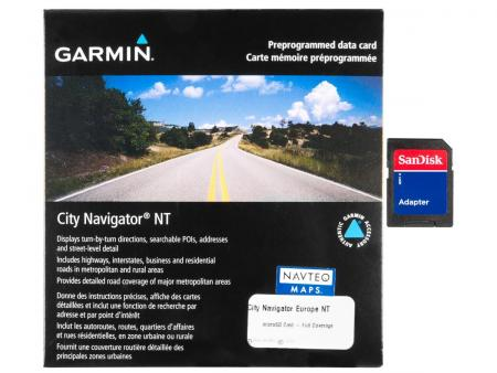 Cartographie Garmin City Navigator