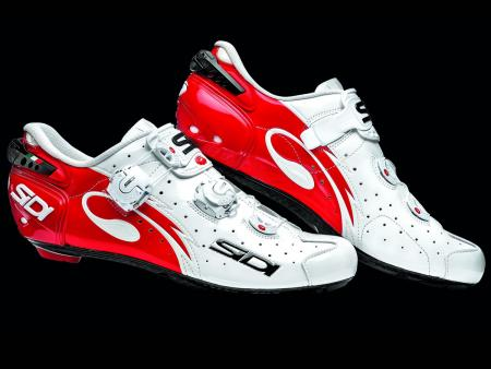 Sidi Wire Carbon Vernice White-Red