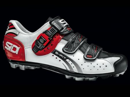 Sidi MTB Eagle 5 Fit White-Black-Red