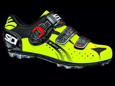 Sidi MTB Eagle 5 Fit Black-Yellow Fluo