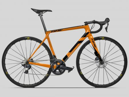 TIME ALPE D'HUEZ 1 AKTIV DISC orange custom 2019