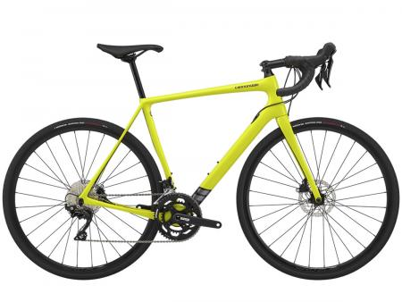 CANNONDALE Synapse Carbon Disc 105 Nuclear Yellow 2020
