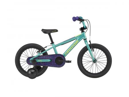 "CANNONDALE Kids Trail Freewheel 16"" Turqoise 2020"