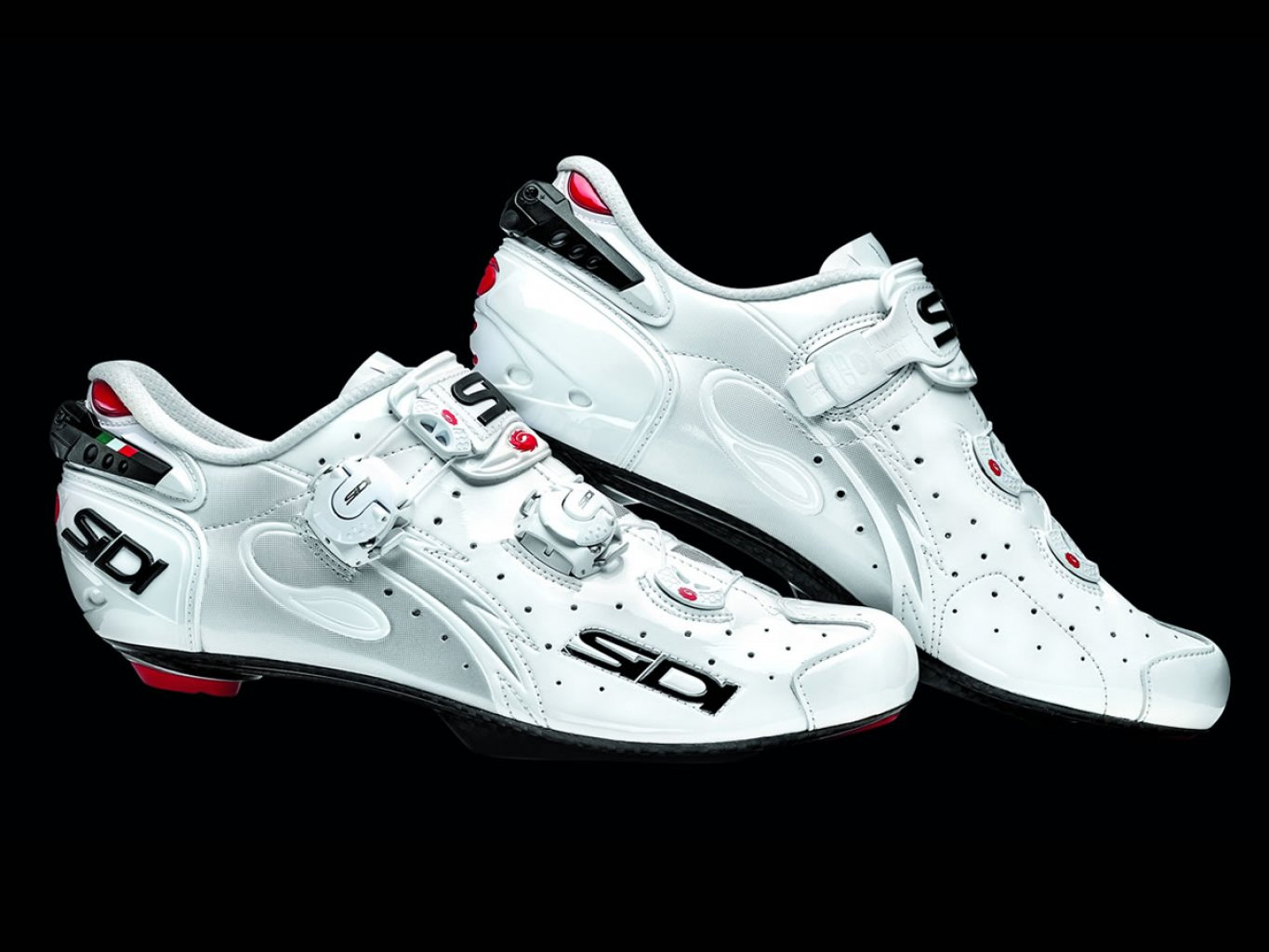 Sidi Wire SP Carbon Vernice White-White