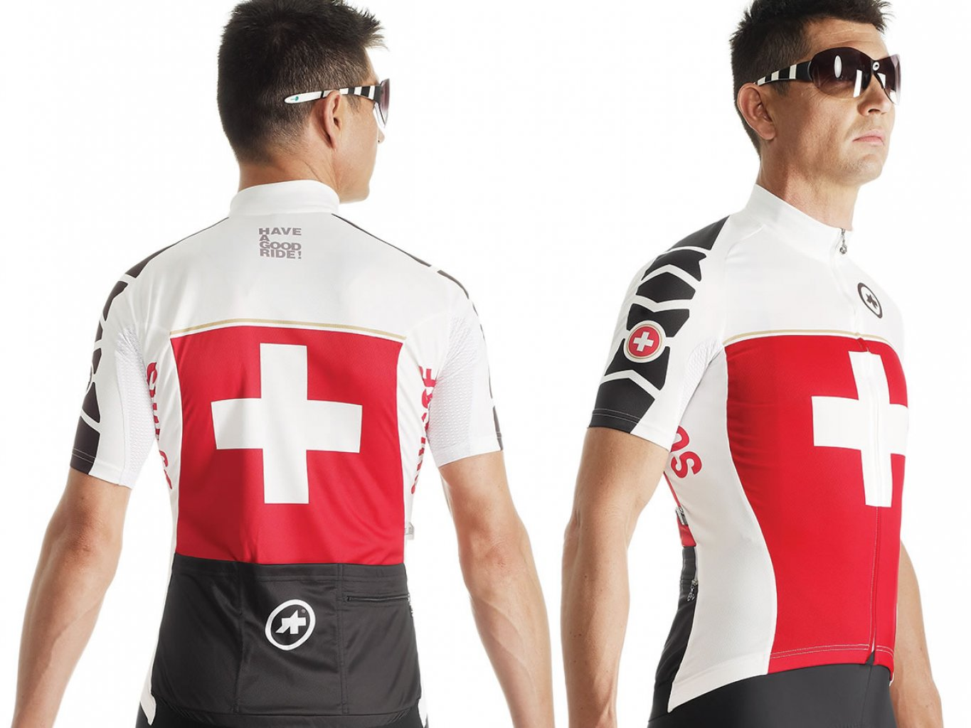 Maillot Assos SS.suissefedJersey evo7