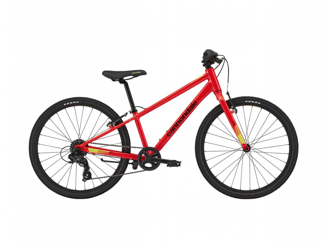 "CANNONDALE Kids Quick 24"" Acid Red 2020"